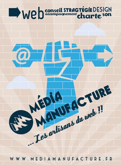 Affiche MédiaManufacture