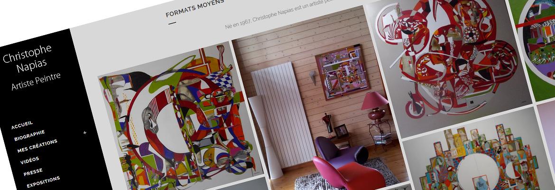 Christophe Napias - Artiste Peintre